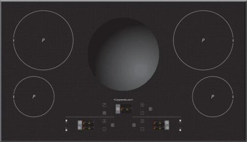 варочная панель с интегрированной вентиляцией