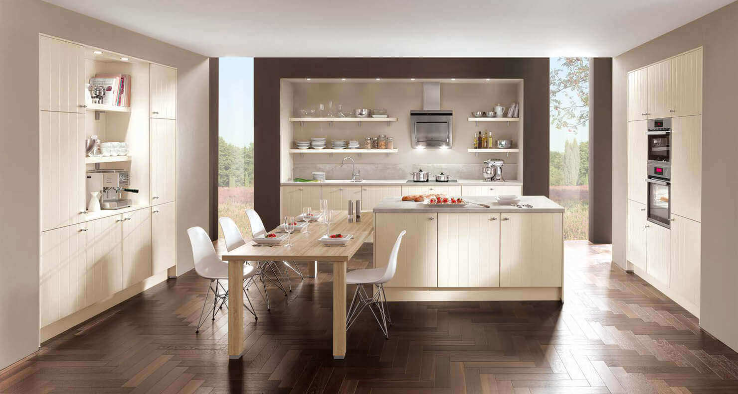 Vorhang kuche modern