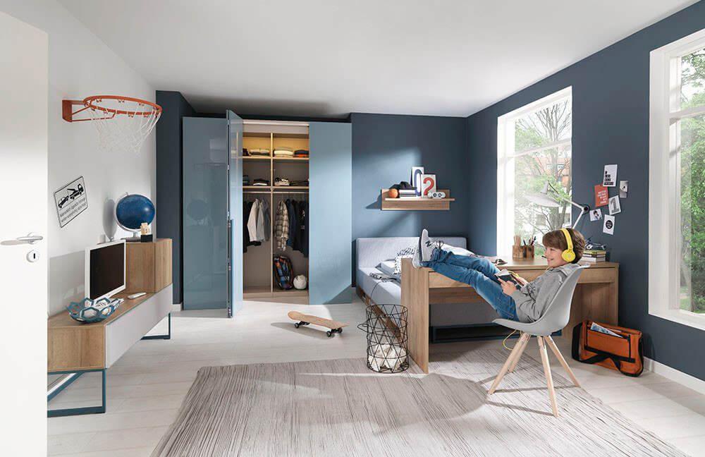 Немецкая мебель для детской комнаты wellemobel