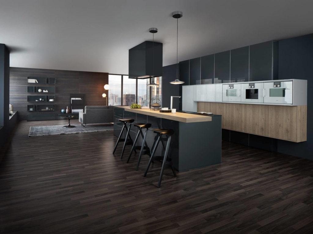 Уникальный дизайн и архитектура немецких кухонь LEICHT