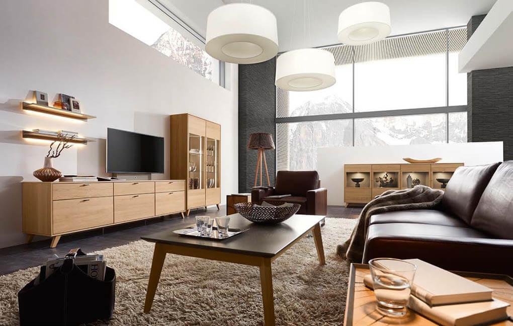 Немецкая мебель для гостиной RIETBERGER MÖBELWERKE