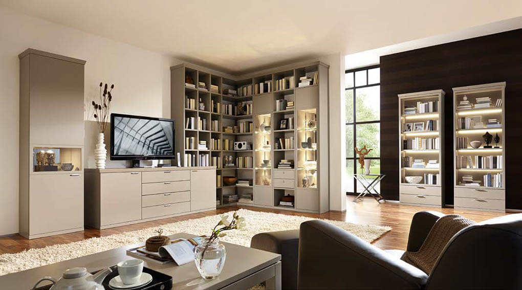 Мебель для гостиной от бренда RIETBERGER MÖBELWERKE